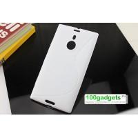 Силиконовый чехол S для Nokia Lumia 1520 Белый