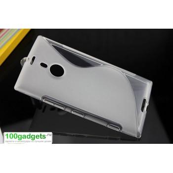 Силиконовый чехол S для Nokia Lumia 1520 Серый