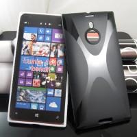 Силиконовый чехол X для Nokia Lumia 1520 Черный