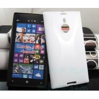 Силиконовый чехол X для Nokia Lumia 1520 Белый
