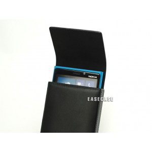 Чехол кожаный натуральный премиум (тип карман) для Nokia Lumia 925