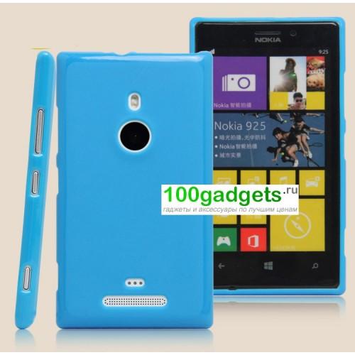 Силиконовый чехол для Nokia Lumia 925 Розовый
