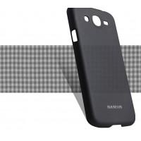 Пластиковый ультратонкий чехол для Samsung Galaxy Mega 5.8 GT-I9152 Черный