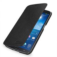 Кожаный чехол книжка горизонтальна (нат. кожа) для Samsung Galaxy Mega 6.3 GT-I9200