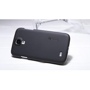 Пластиковый премиум чехол матовый для Samsung Galaxy Mega 6.3 GT-I9200 Черный
