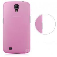 Пластиковый ультратонкий чехол для Samsung Galaxy Mega 6.3 GT-I9200 Розовый