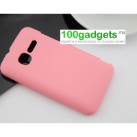 Пластиковый чехол для MTS 970 Розовый