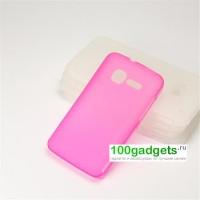 Силиконовый чехол для MTS 970 Розовый