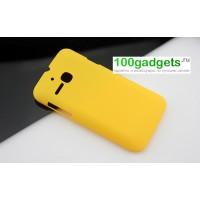 Пластиковый чехол для MTS 972 Желтый