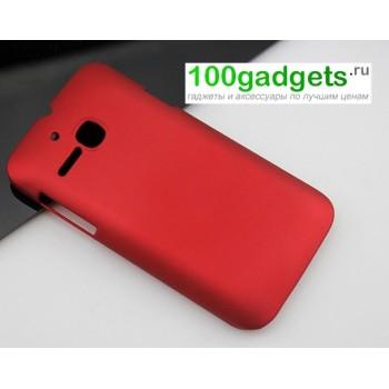 Пластиковый чехол для MTS 972 Красный