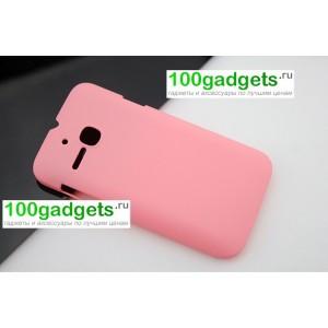 Пластиковый чехол для MTS 972 Розовый