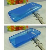 Силиконовый чехол S для MTS 975 Голубой
