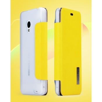 Чехол флип серия Colors для Meizu MX3 Желтый
