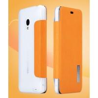 Чехол флип серия Colors для Meizu MX3 Оранжевый