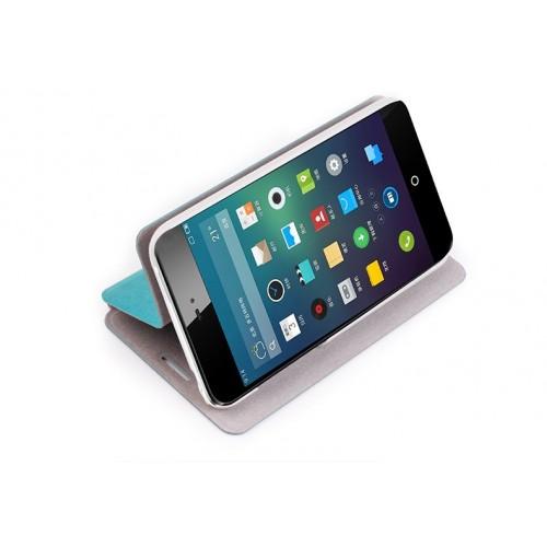 Чехол флип подставка водоотталкивающий для Meizu MX3 Черный