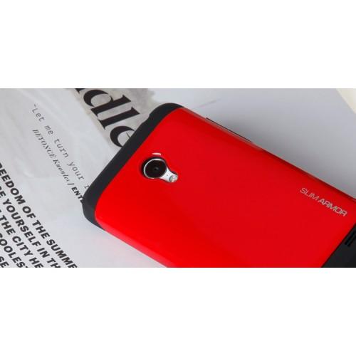 Чехол силикон/поликарбонат премиум серия B-Color для Meizu MX3 Черный