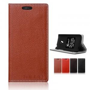 Кожаный чехол портмоне подставка (нат. кожа) для Meizu MX3