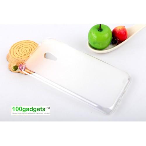 Силиконовый чехол для Meizu MX3 Белый