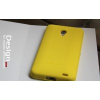 Силиконовый премиум чехол для Meizu MX3 Желтый