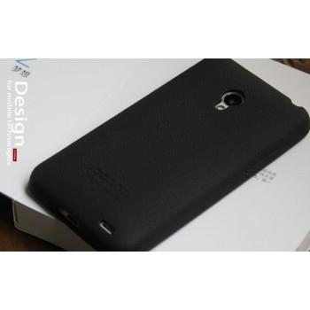 Силиконовый премиум чехол для Meizu MX3 Черный