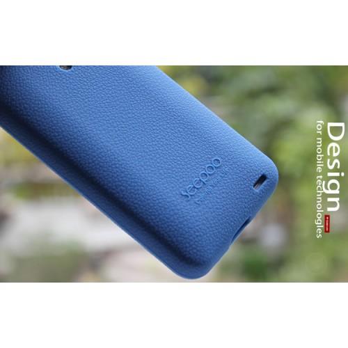 Силиконовый премиум чехол для Meizu MX3 Фиолетовый