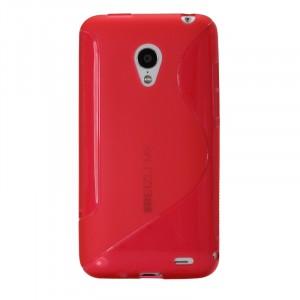Силиконовый чехол S для Meizu MX3 Красный
