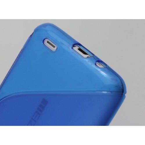 Силиконовый чехол S для Meizu MX3 Черный