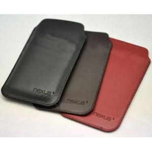 Кожаный мешок для Google Nexus 5