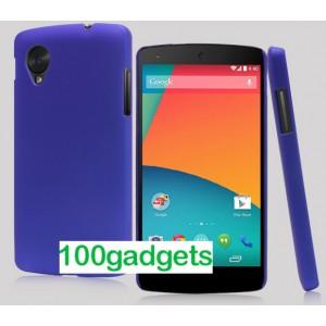 Пластиковый чехол для Google Nexus 5 Синий