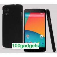 Пластиковый чехол для Google Nexus 5 Черный
