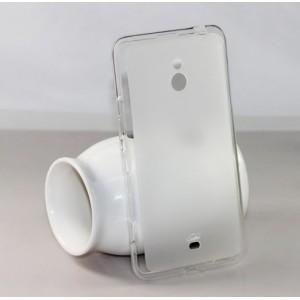 Силиконовый чехол для Nokia Lumia 1320 Белый