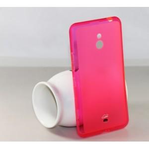 Силиконовый чехол для Nokia Lumia 1320 Розовый