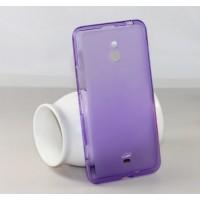 Силиконовый чехол для Nokia Lumia 1320 Фиолетовый