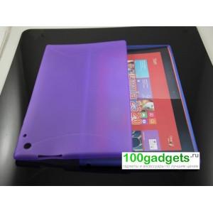Силиконовая задняя панель для Nokia Lumia 2520 Фиолетовый