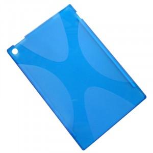 Силиконовая задняя панель X для Nokia Lumia 2520 Синий