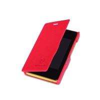 Чехол флип серия Colors для Nokia Asha 502 Красный