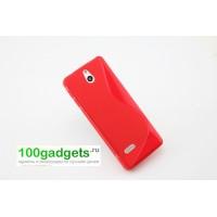 Силиконовый чехол S для Nokia 515 Красный