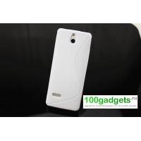 Силиконовый чехол S для Nokia 515 Белый
