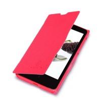 Чехол флип серия Colors для Nokia X Красный