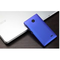 Пластиковый чехол для Nokia X Синий