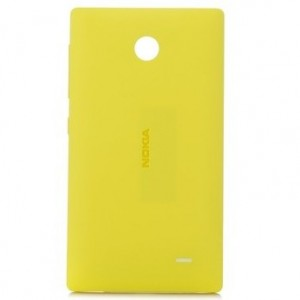 Оригинальный пластиковый чехол для Nokia X Желтый