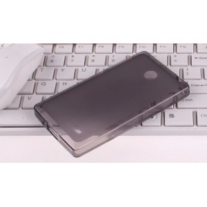 Силиконовый чехол для Nokia X Черный