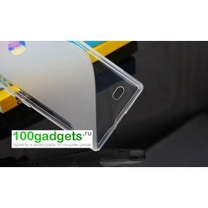 Силиконовый чехол S для Nokia X Белый
