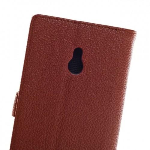 Чехол портмоне подставка для Nokia XL