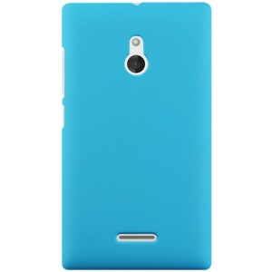 Пластиковый чехол для Nokia XL Голубой