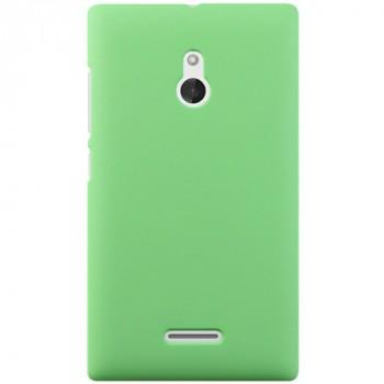 Пластиковый чехол для Nokia XL Зеленый
