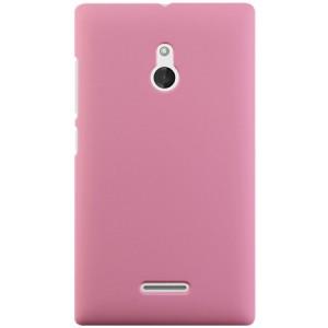 Пластиковый чехол для Nokia XL Розовый
