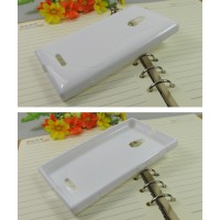 Силиконовый чехол S для Nokia XL Белый