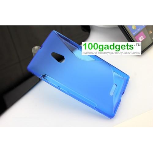 Силиконовый чехол S для Nokia XL Красный