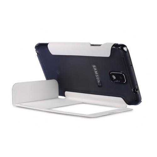 Чехол флип подставка инвертный с окном вызова для Galaxy Note 3